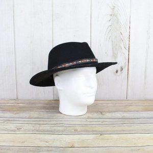 BRONER 100% Wool Wide Brim Western Style Hat Sz XL